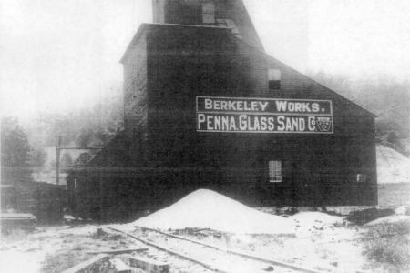 Pennsylvania Glass Sand History