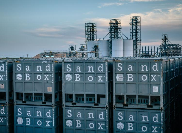 Sandbox Containers Stacked